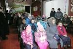 Joulujuhlan väkeä Kurbassa 7.1.2016