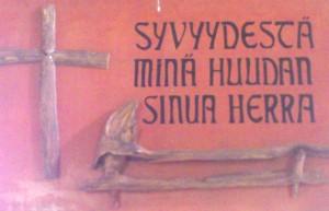 Ylämaan Villalalan rukoushuoneen alttaritaulu